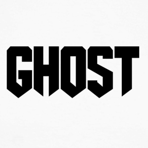 Ghost logo design - Men's Long Sleeve Baseball T-Shirt