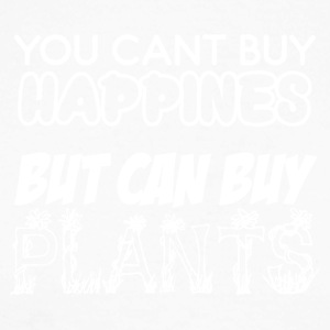 Cant buy Happiness - Plants do the job - Men's Long Sleeve Baseball T-Shirt