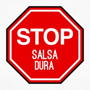 Stop Salsa Dura - DanceShirts - Men's Long Sleeve Baseball T-Shirt