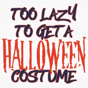 Halloween: Too Lazy To Get A Halloween Costume - Men's Long Sleeve Baseball T-Shirt