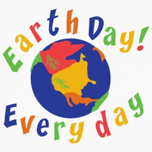 Earth Day Every Day - Langermet baseball-skjorte for menn