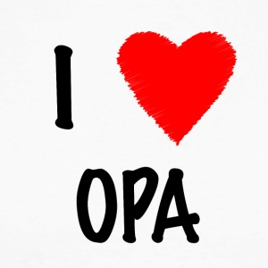I Love OPA - Men's Long Sleeve Baseball T-Shirt