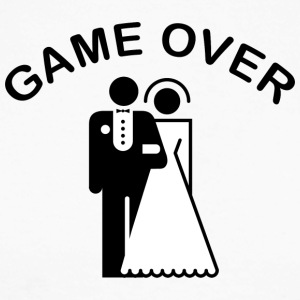 Game Over Just Married - T-shirt baseball manches longues Homme