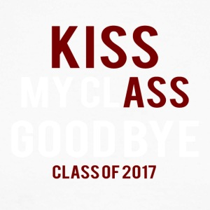 High School / Graduation: Kiss Ass - Kiss my classe - T-shirt baseball manches longues Homme