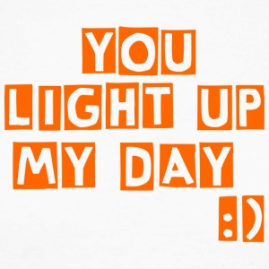 you light up my day - Men's Long Sleeve Baseball T-Shirt