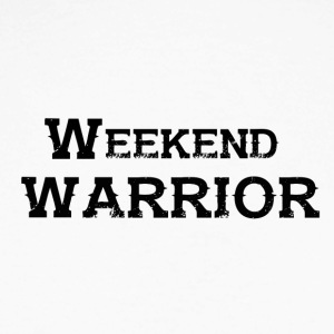Shirt Weekend Warrior weekend di festa - Maglia da baseball a manica lunga da uomo