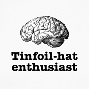 Tinfoil-hat Enthusiast - Langermet baseball-skjorte for menn