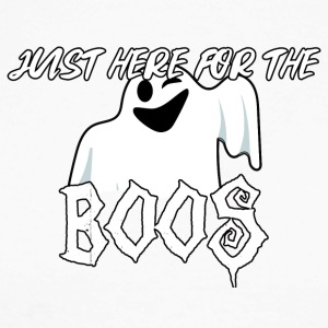 Halloween: Just Here For The Boos - Men's Long Sleeve Baseball T-Shirt