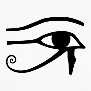 Eye of Horus - Langermet baseball-skjorte for menn