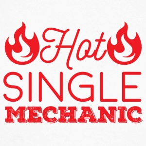 Mechaniker: Hot Single Mechanic - Männer Baseballshirt langarm