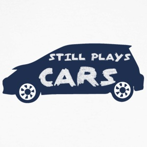 Mechanic: Still Plays Cars - Men's Long Sleeve Baseball T-Shirt