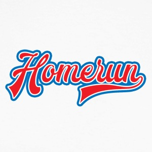 Baseball: Homerun - Langermet baseball-skjorte for menn