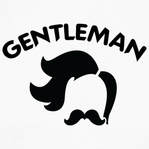 GENTLEMAN 5 sort - Langermet baseball-skjorte for menn