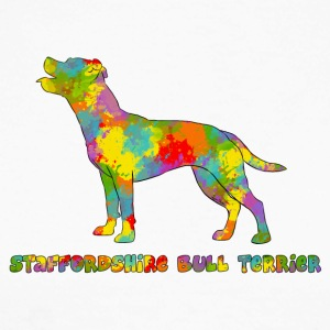 Staffie Multicolore - T-shirt baseball manches longues Homme