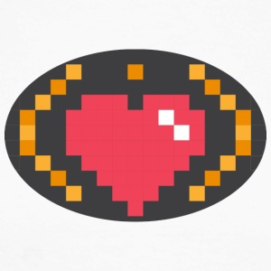 Digital Heart Isle by Isles of Shirts - Männer Baseballshirt langarm