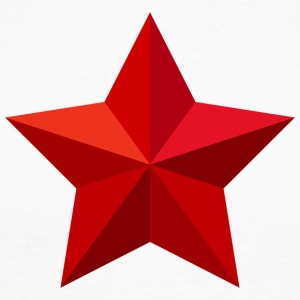 Red Star Red Star jule Crest Flag - Langermet baseball-skjorte for menn