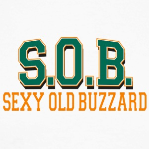 SOB Sexy Old Buzzard - T-shirt baseball manches longues Homme