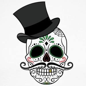 Day of the Dead - Langærmet herre-baseballshirt