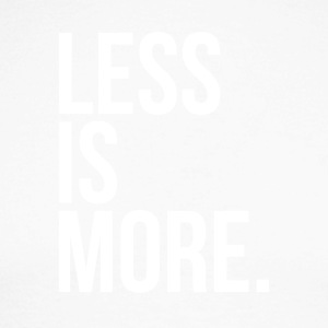 Less is more - T-shirt baseball manches longues Homme