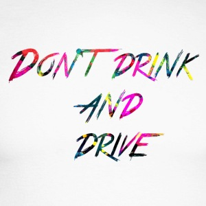 rainbow Don t drink and drive - Langermet baseball-skjorte for menn