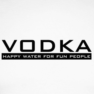 Vodka - happy vann - Langermet baseball-skjorte for menn