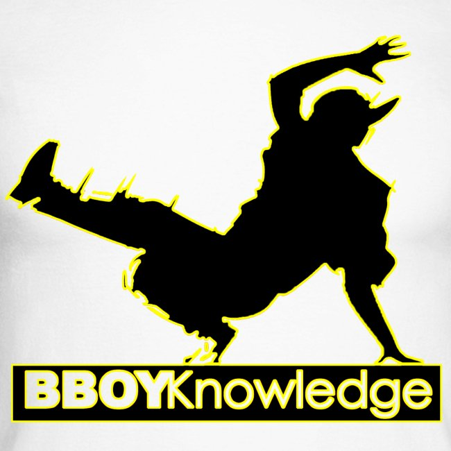 Bboy Knowledge Logo Variation Yellow