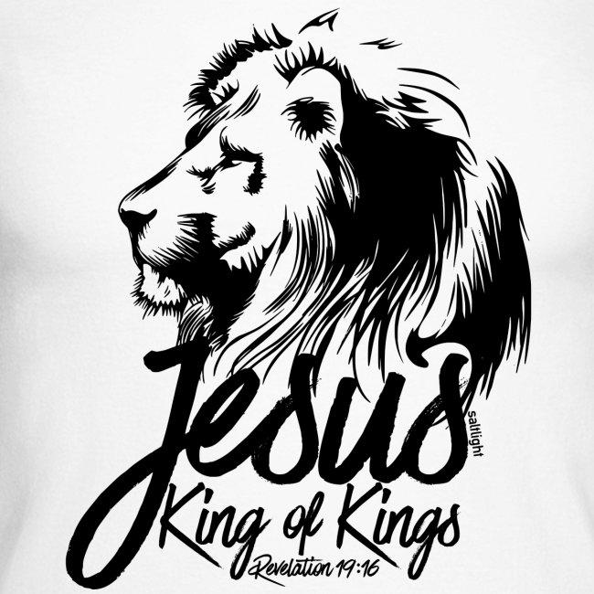 JESUS - KING OF KINGS - Revelations 19:16 - LION