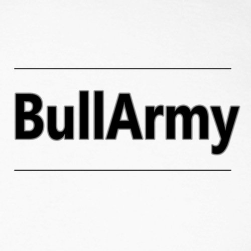 Bull Army Top Design edit 1 png - Men's Long Sleeve Baseball T-Shirt