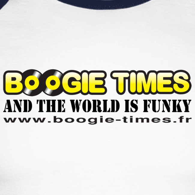WORLD IS FUNKY ts white