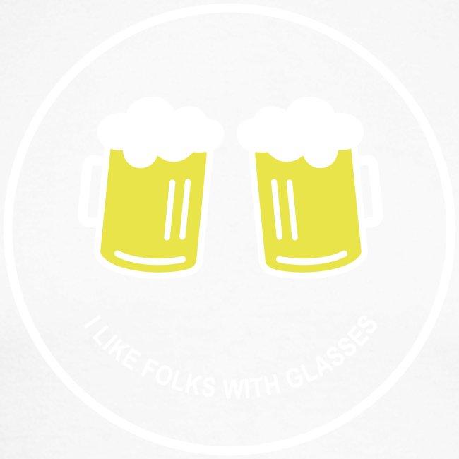 Bier Smiley – Oktoberfest – Bierzelt – Aprèski