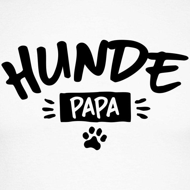 Vorschau: Hunde Papa - Männer Baseballshirt langarm