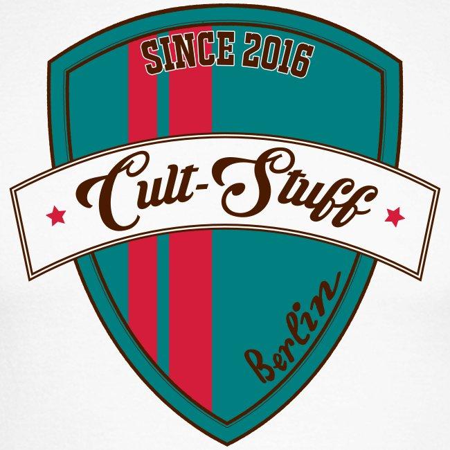 Cult Stuff - Logo grün rot