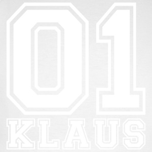 Klaus - Name - Men's Long Sleeve Baseball T-Shirt