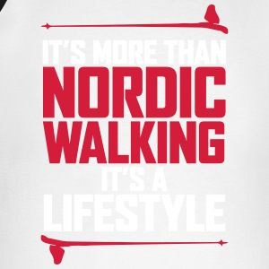It's more than the Nordic Walking - Men's Long Sleeve Baseball T-Shirt