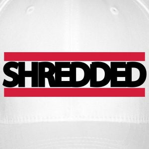 shredded - Flexfit Baseballkappe