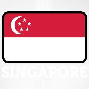 National Flag Of Singapore - Flexfit Baseball Cap