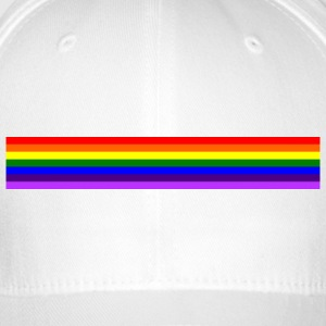 Band rainbow / rainbow band - Flexfit Baseball Cap