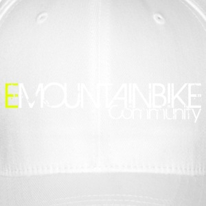 '' EMOUNTAINBIKE Community Logo '' Shirt - Flexfit Baseball Cap