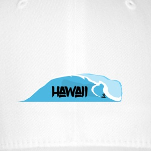 waves Hawaii - Flexfit Baseball Cap