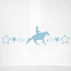Slider horse with stars - Flexfit Baseball Cap