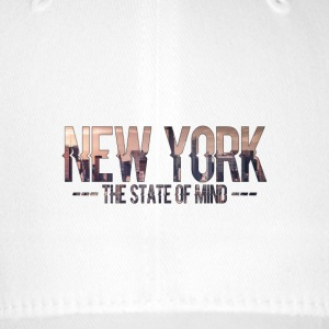 New York - The state of mind - Flexfit baseballcap