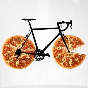 Pizza Bike - Flexfit basebollkeps