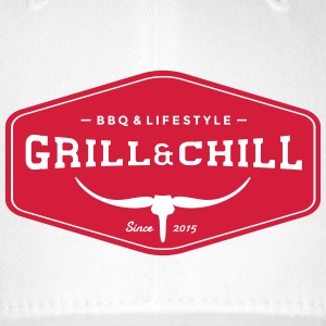 BBQ and Chill / BBQ and Lifestyle Origin Logo - Flexfit Baseball Cap