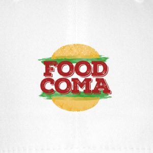 Food Coma Hamburger fast food - Flexfit Baseball Cap