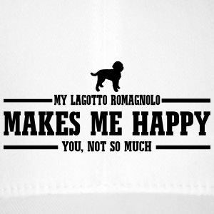 LAGOTTO ROMAGNOLO makes me happy - Flexfit Baseball Cap