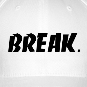 zwart BREAK - Flexfit baseballcap