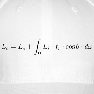 Transport equation of light. - Flexfit Baseball Cap