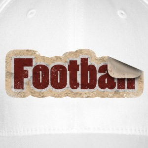 Football Sticker - Flexfit Baseballkappe