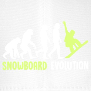 ++ ++ Snowboard Evolution - Flexfit Baseball Cap