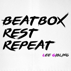 Beatbox Rest Repeat - Large - Flexfit Baseball Cap